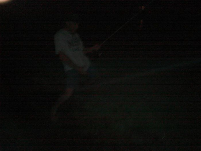 my bass assassin bud wood tick playing in the sprinkler 😁well fishing 9 ponds dodging alligators🚩