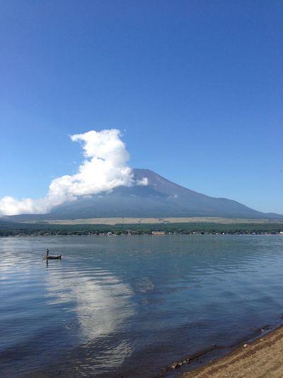 Fuji Mountain 山中湖湖畔からの富士山