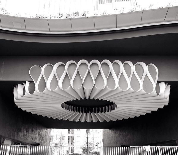 Collerette urbaine Architecture Built Structure Urban Geometry Design Paris Blackandwhite