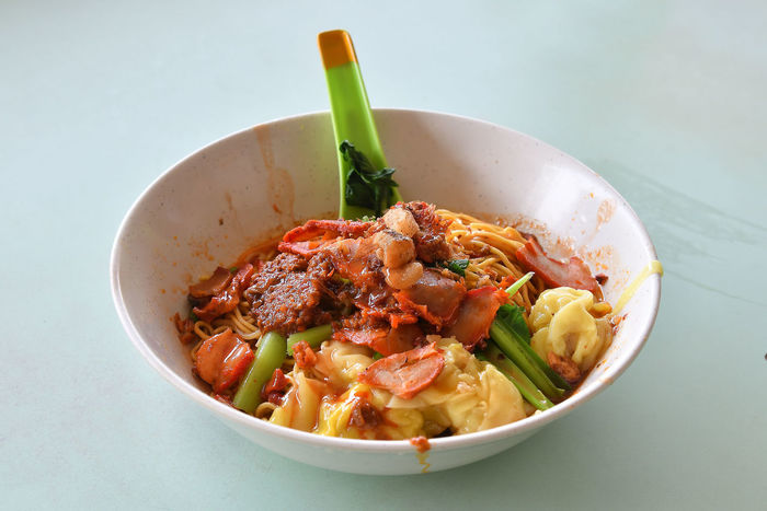 Bowl Charsiew Close-up Day Food Food And Drink Freshness Hawker Food Healthy Eating Indoors  No People Noodles Ready-to-eat Serving Size Wanton Wanton Mee Wanton Noodles