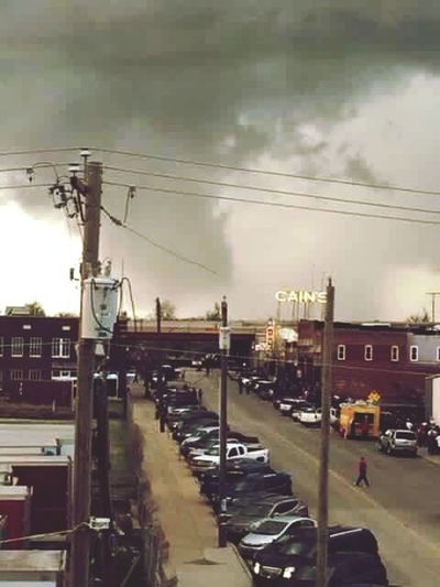 Here Belongs To Me Tulsa, Oklahoma Concert Tornado Funnelcloud Tornadoseason Cains Ballroom