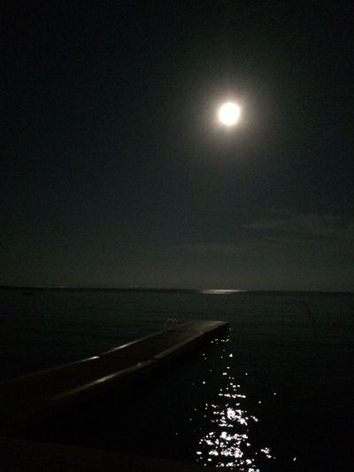 What Does Peace Look Like To You? Sitting by the still sea under the full moon
