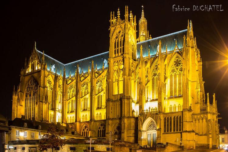 Metz, France édifice religieux Cathedrale