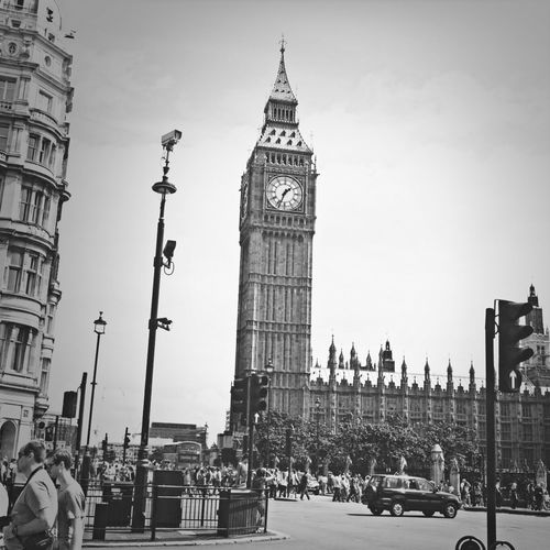 London Bigben Elizabethtower Queen