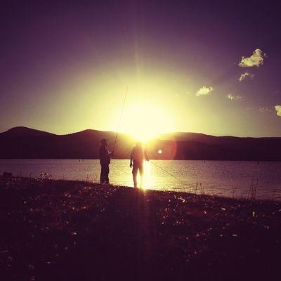 Sunset fishing. #roadtrip Roadtrip Lachlanpayneawesomeamazingphotosbestinstagramereverfollowmenow Payneroadtrip