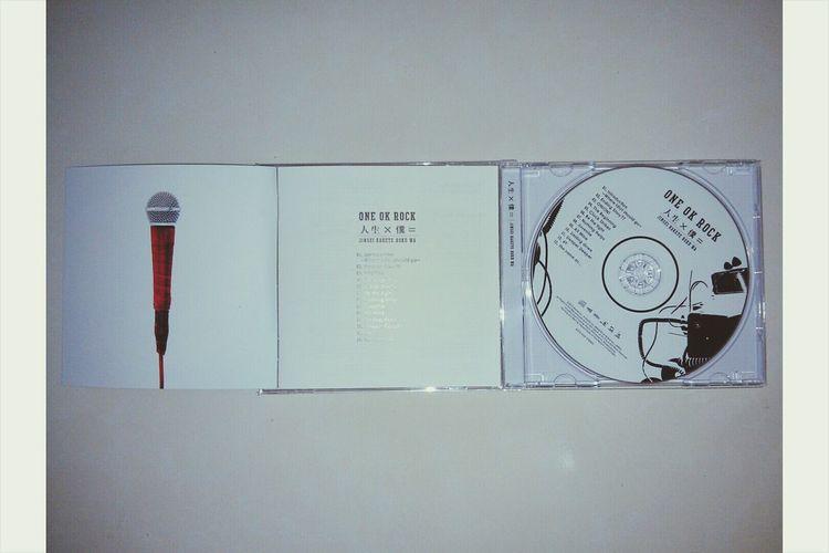 最後成了生日禮物。 ONE OK ROCK Jinsei Kakete Boku Wa Album