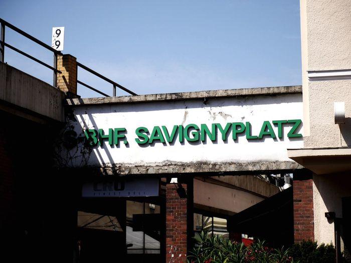 S-Bhf Savignyplatz Berlin Charlottenburg  West-Berlin