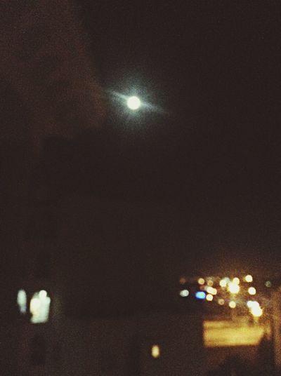 La pleine Lune un Vendredi 13.. Vendredi13 Nigh Full Moon