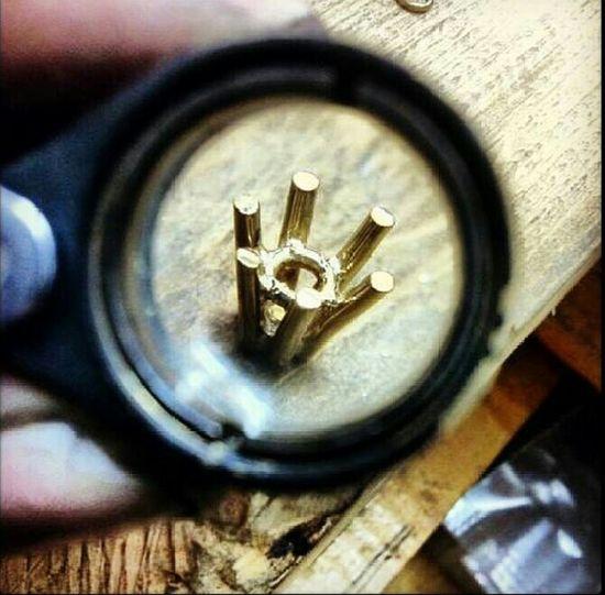 Make It Yourself 6 claw Diamond Pendant Goldsmithing 18ct Tadaa Community Surprised Enjoying Life Europe