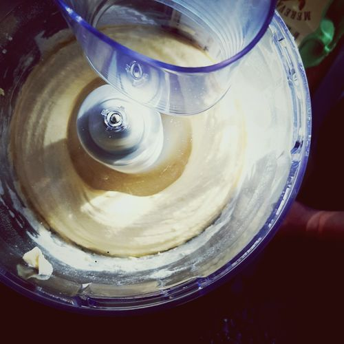 This Is Joy day 25. Baking Cakes Food Processor Cake Mix In The Kitchen Birthday Cake High Angle View Close-up