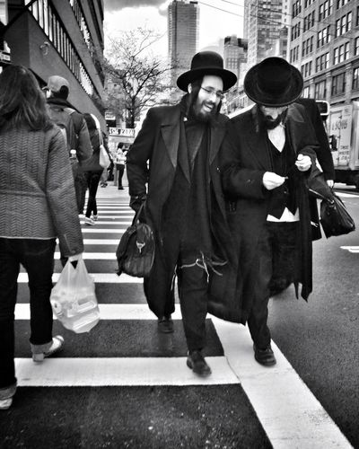 From My Point Of View crossing 34th Street  on Friday afternoon New York City without Colliding into others Streetphoto_bw Streetphotography