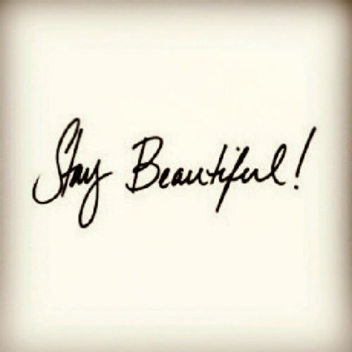 Staybeautiful