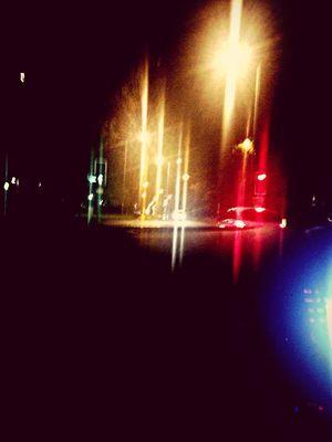 #FlashingLights Lightography Driving