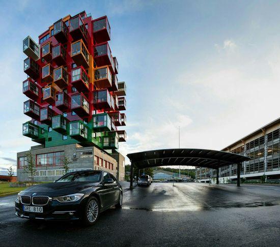 Örnsköldsvik Architecture Sweden Ting1 Gert Wingårdh Cityscapes