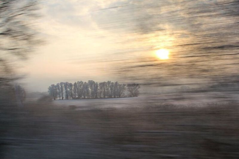 Rückblick 7 Jahre Passingtime Passing By Motion Poetry In Pictures Wintersun Pictureinmotion Fromthetrain No People Sunset Nature Scenics Outdoors Sky Beauty In Nature