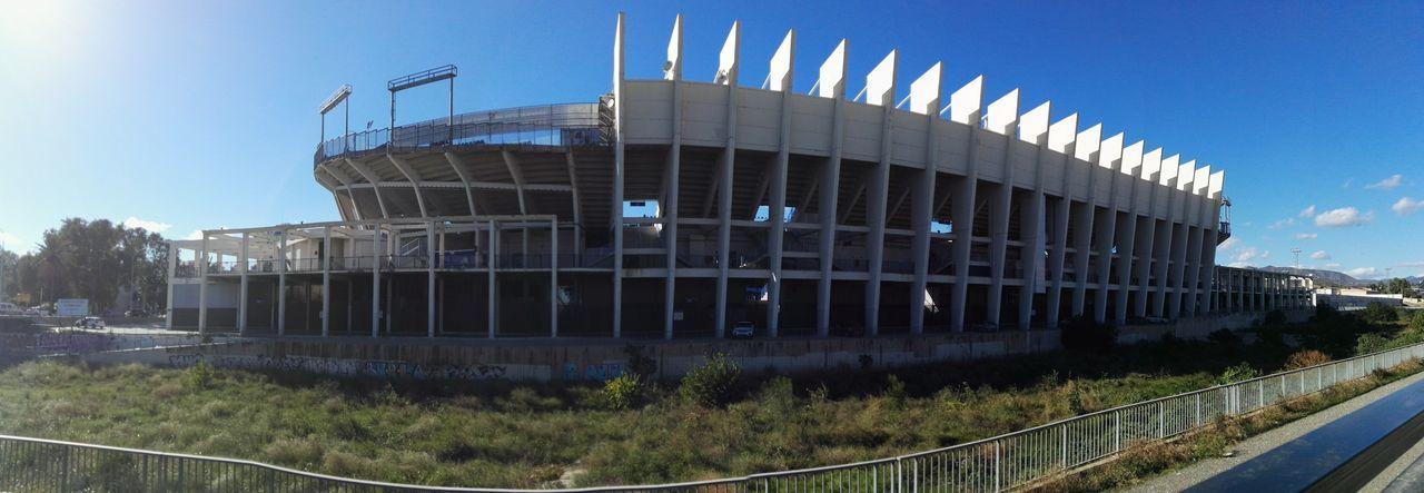 Estadio La Rosaleda, Málaga Movilgrafias CostadelSol Eyeemphotography EyeEm Gallery Malaga HuaweiP8 Panoramic Photography The Week On Eyem