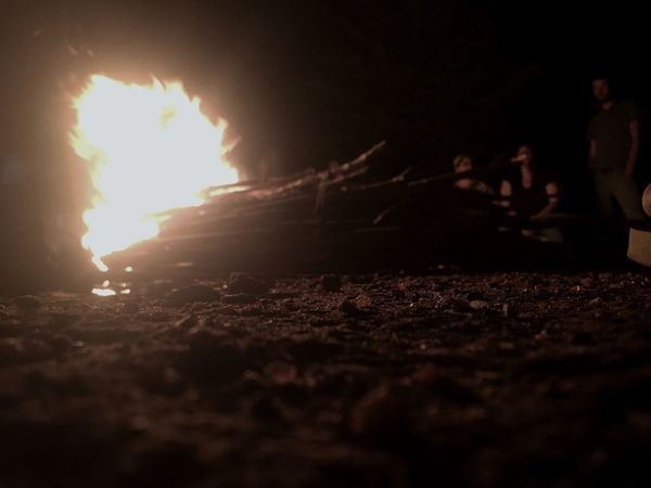 Campfire Fire Outdoors Surface Level Nature Tranquility Brazil Night Campfire Flames Campfire#nature# Campfire Party Campfire Night