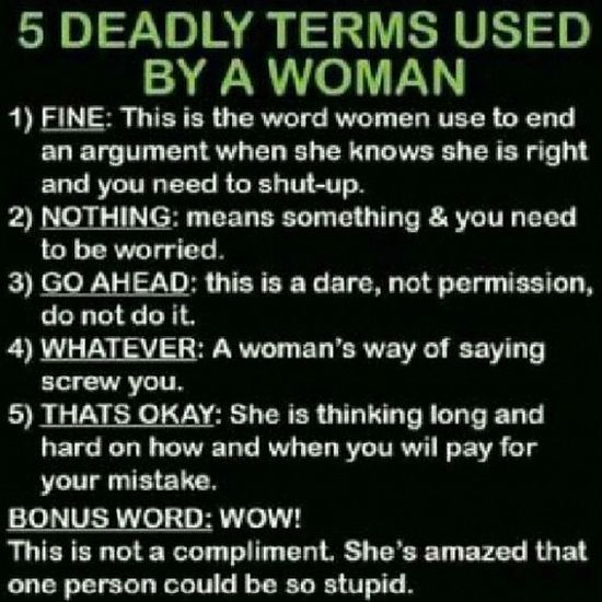 Guys !!! Readit Learnit MemorizeIt this is so true for almost all women.