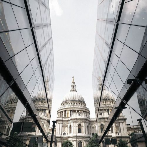 Low Angle View Of Buildings In London