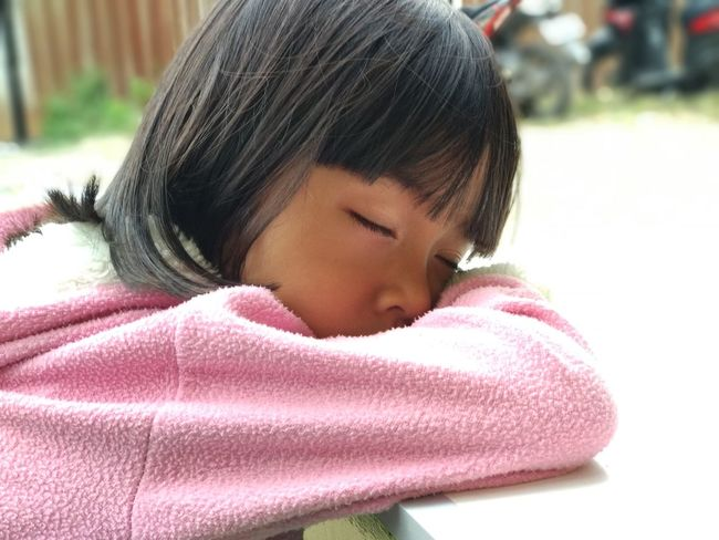 EyeEm Selects Childhood One Person Headshot Child Close-up Warm Clothing Day Children Only People Cold Temperature Human Body Part Outdoors Adult Sleeping Sleepy Sleeping Beauty Fashion Stories The Portraitist - 2018 EyeEm Awards