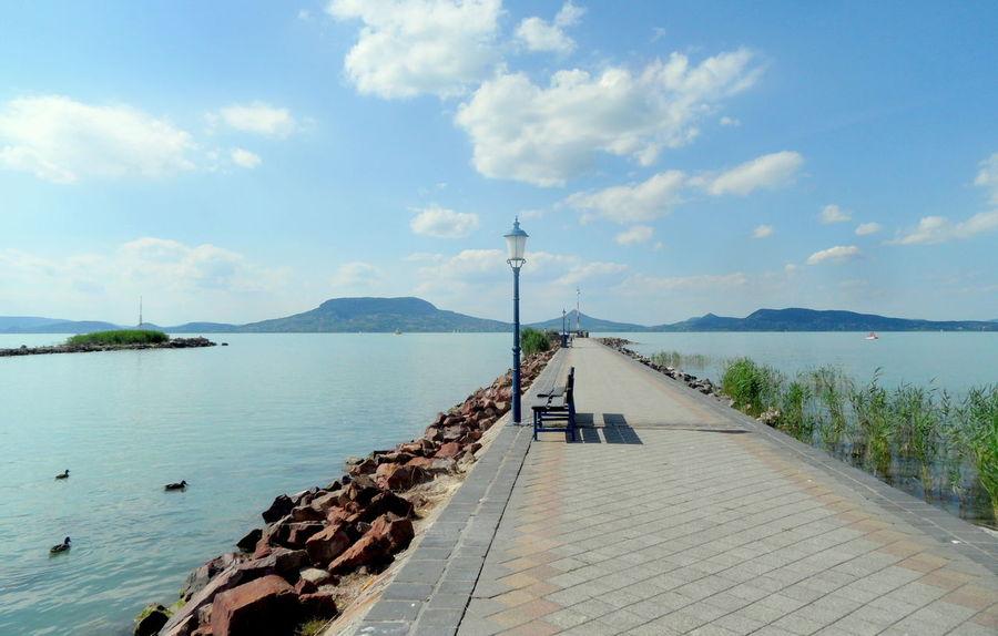 Badacsony Balaton - Hungary Blue Sky Clouds And Sky Fonyód Holiday Lake Summer Outdoors Walking