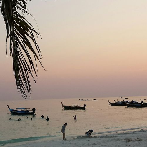Beatiful Koh Lipe Life Is A Beach Sunset Silhouettes Sunset_collection Beach