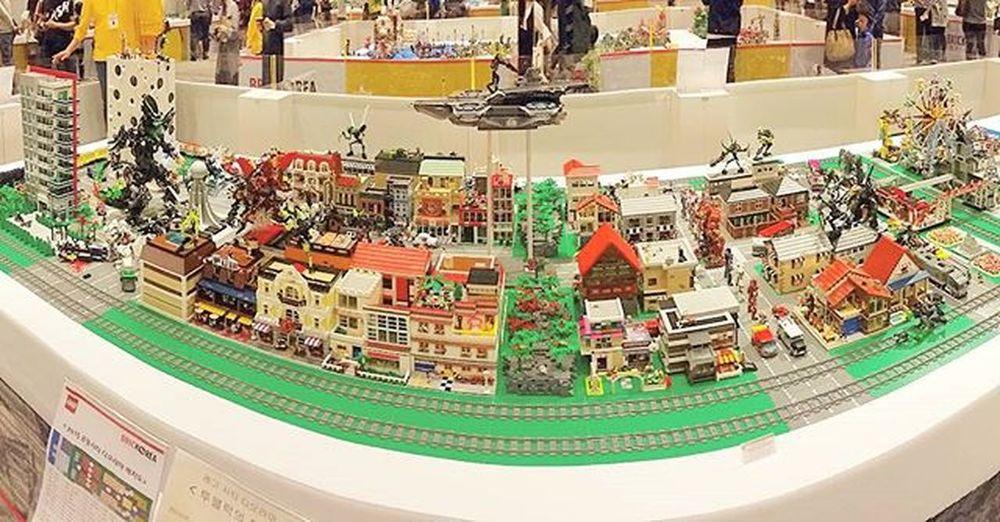 와..이번엔 규모가 더 커졌다😲 ☆ 브릭코리아컨벤션 Brickoreaconvention Brickorea 현대백화점판교점 디오라마 Diorama