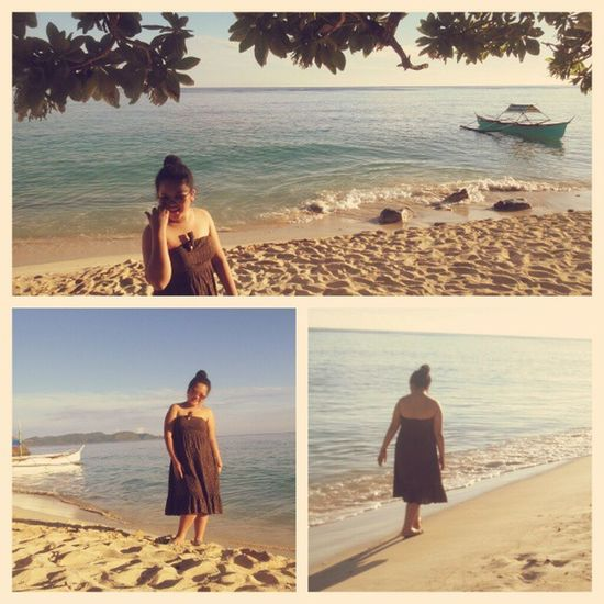 Morning walk. <3 Beachbaby Morefuninthephilippines Vacation
