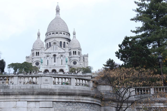France Paris Sacre Coeur Sacré Coeur, Paris Architecture Building Exterior Built Structure Day Dome History Low Angle View Paris Photography Place Of Worship Religion Spirituality Tourism Travel Destinations Tree