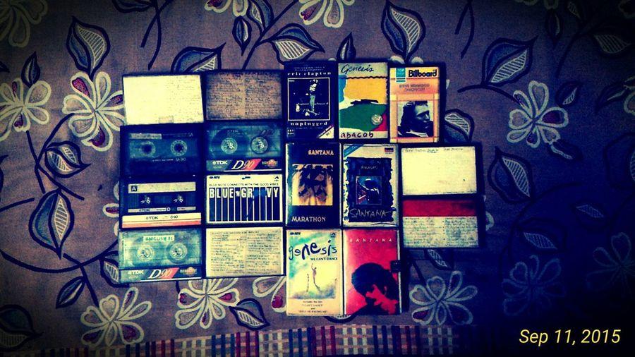Mixtape Mixtapes Cassette Cassettes Audio Tape Rock Music Oldies Blues Santana Frank Zappa 80s Music 70s Music 60s Music Old Is Gold