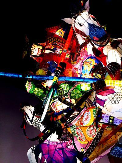 Carnival Figure Japanese Culture Japan Kariya Mando 万灯 Festival