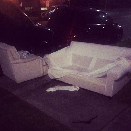 Sofa loveseat combo in the wild. 015 ? Maybe 016 ? I'm under the sake influence.