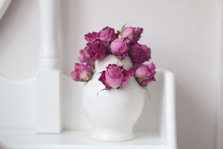 Flower Flowering Plant Fragility Vulnerability  Beauty In Nature Plant Indoors  Pink Color No People Nature Still Life Table Decoration Vase Rosé Flower Arrangement