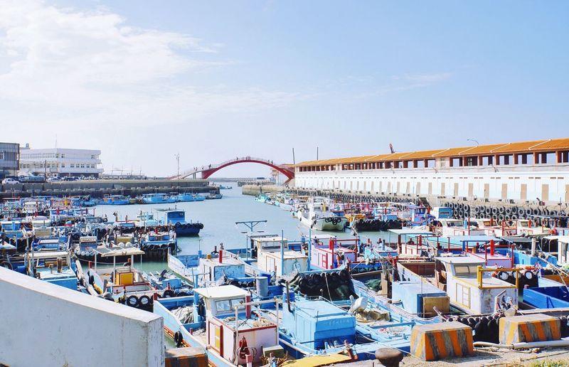 竹圍漁港 Chu-Wei Fishing Harbour EyeEmNewHere