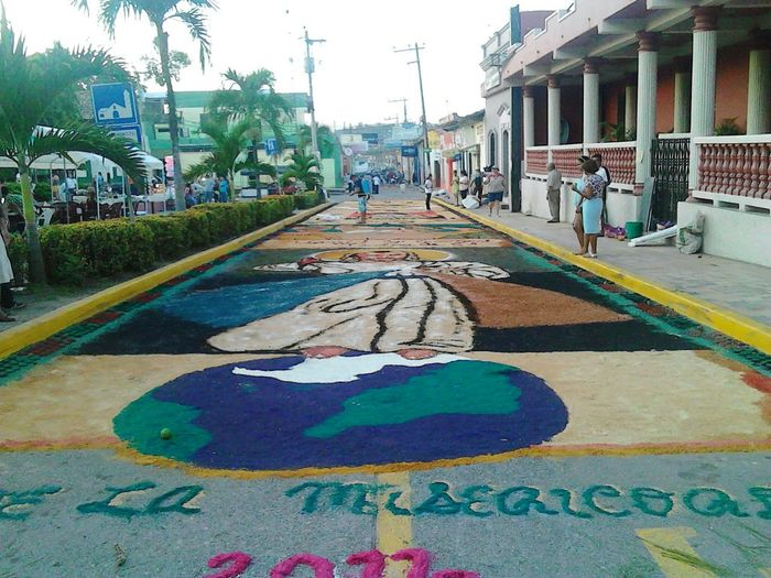 Santa Barbara, Honduras Alfombra