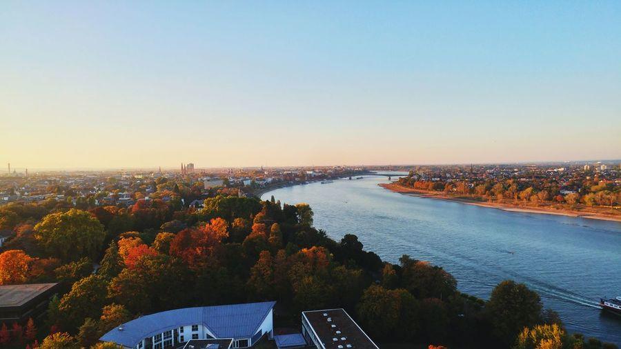 Bonn Germany GERMANY🇩🇪DEUTSCHERLAND@ Bonn Rhein River Germany View Panorama Autumn colors Autumn Lg G5 Autumn Mood