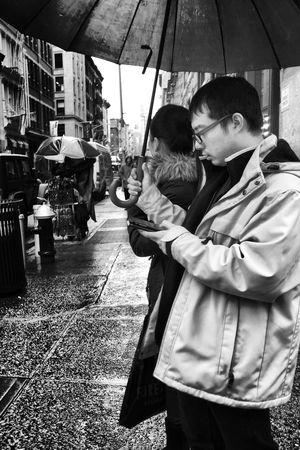 Navigating NoLita Streetphotography Blackandwhite Enlight New York City Manhattan