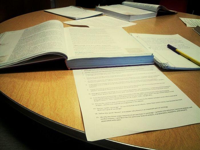 All Dis Damnn Work... #SociologyClass