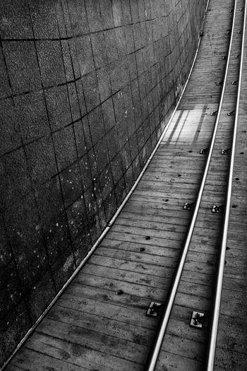 Tournai Blackandwhite Architecture Architecture_bw Sony Surrealism Ground Train Check This Out Hello World