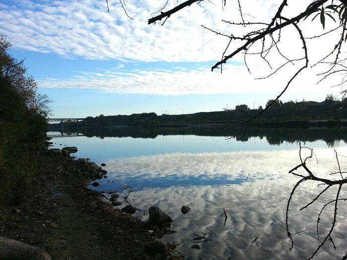 South Saskatchewan River Nature Photography Fall Season