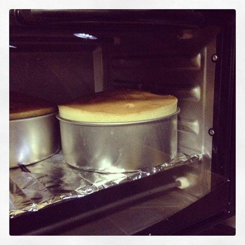 Buttery pound cake not in a pound cake mold. Midnightbaking Poundcake
