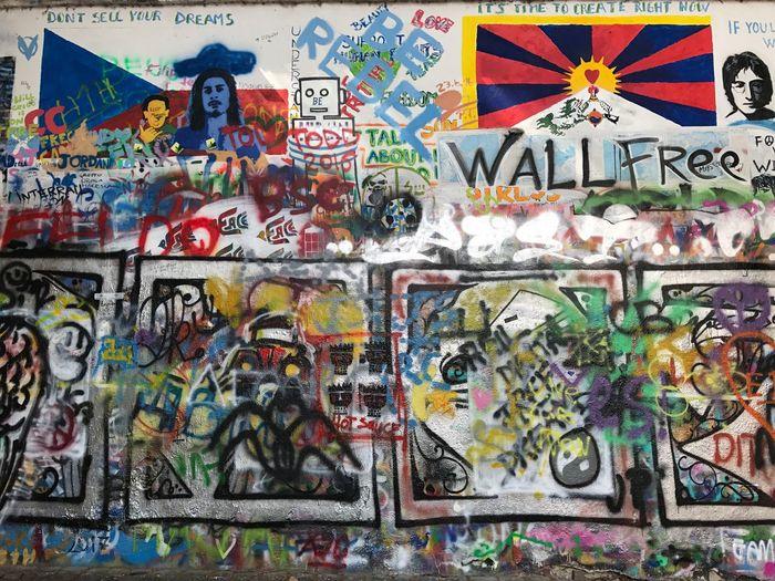 John Lennon Wall Walloffreedom Freedom