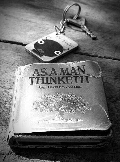 James Allen Book As A Man Thinketh Key Ring Thailand