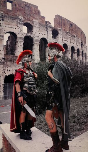Gladiators are talking