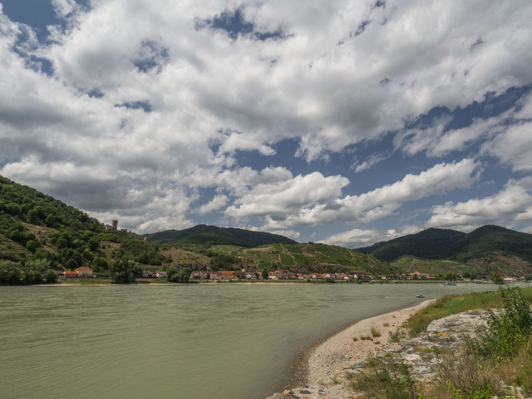 Wachau Architecture Beauty In Nature Cloud - Sky Day Environment Land Landscape Mountain Nature No People Outdoors Plant River Scenics - Nature Sky Tranquil Scene Tranquility Water Waterfront