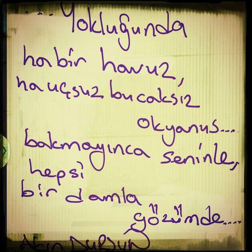 Poems Poetry Yokluğunda Siir #siirsokakta #şiirheryerde #akındursun #çakmaktaşı #poems #şiiraşkı #poem #poetry #poet
