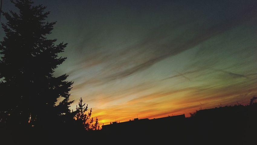 Night Sky Czech Republic West Side I Love It ❤