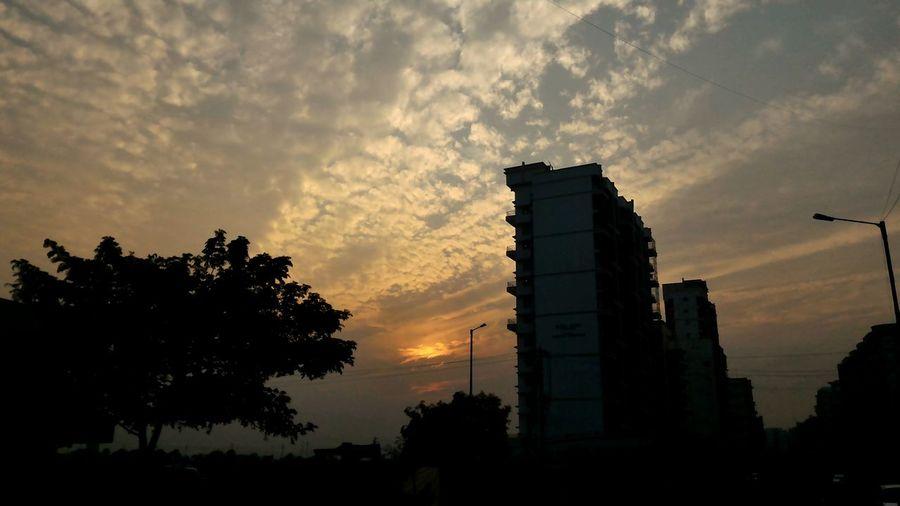 Beautiful sunset, beautiful clouds. First Eyeem Photo