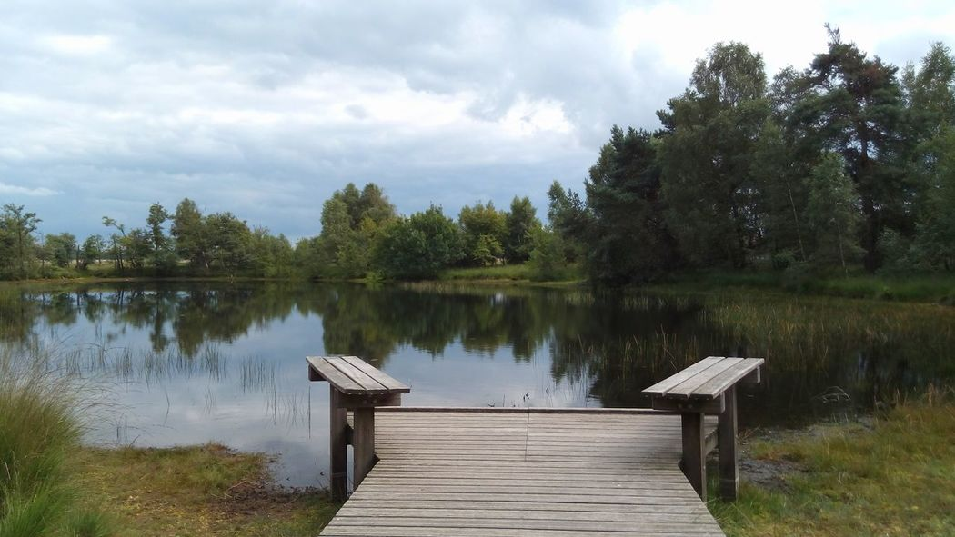 Hogeveluwe Lake Water Tranquility Nature Landscape Lake View Beauty In Nature TheWeekOnEyeEM Simplicity Is Beauty. Holland Nature_collection Nature Photography Naturelovers Hoge Veluwe