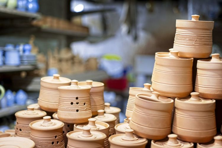 Potteries for sale in store